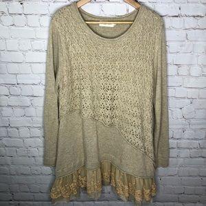 Simply Couture Boho Lace Tunic